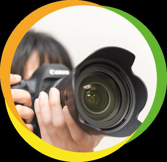 プロカメラマン撮影